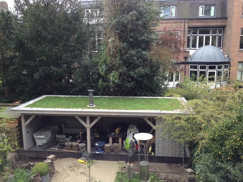 Amsterdam lairessestraat veranda beemster daktuinen for De veranda amsterdam